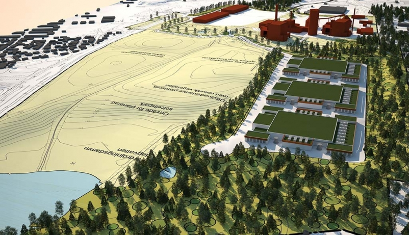 World's first 'climate positive' data center is under construction in Sweden
