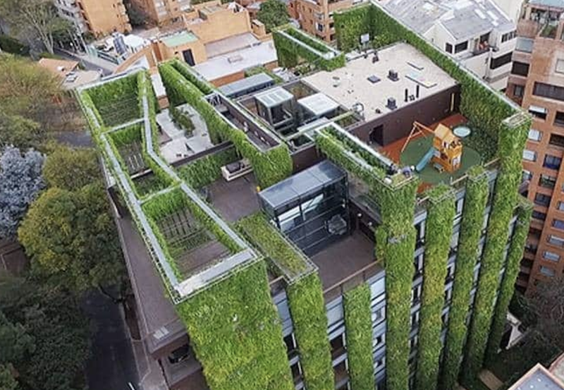 Vertical gardens: Wellness oases in the urban jungle | Building ...