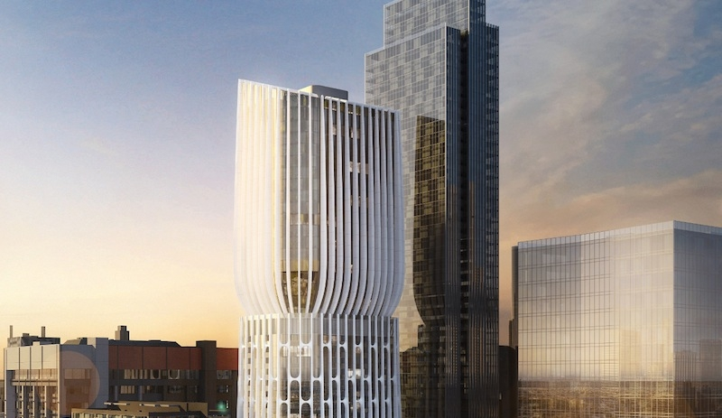 """Zaha Hadid designs a tower of """"stacked vases"""" in Melbourne"""