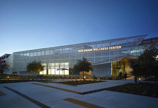 Don Knabe Wellness Center and Plaza at Rancho Los Amigos National Rehabilitation Center, Downey, Calif.