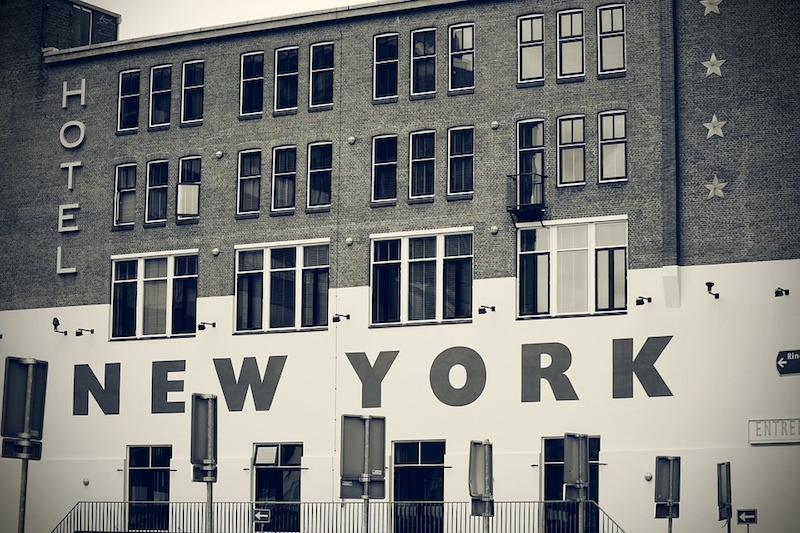 A hotel in New York