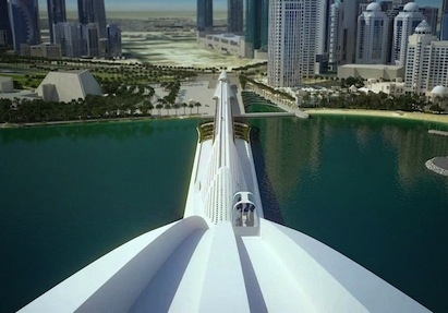 All images and video courtesy Santiago Calatrava.