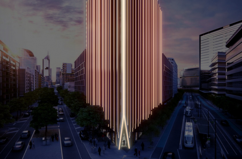 Melbourne tower will light up depending on weather