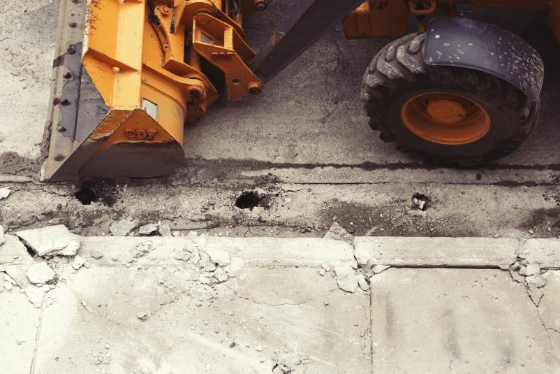 Nonresidential construction spending flat in February