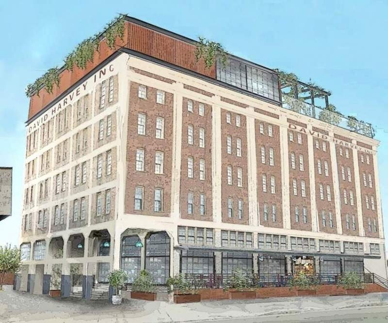 The Six Story Renovation Is One Of Several Hospitality Projects That Have Spurred Growth