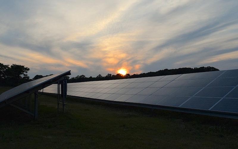 A solar array