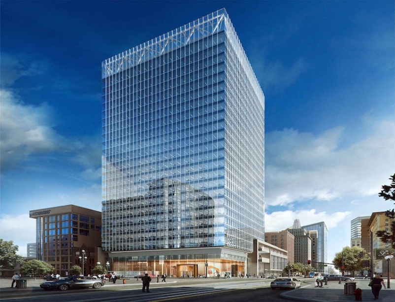 Som s salt lake city skyscraper uses innovative structural - Interior solutions salt lake city ...