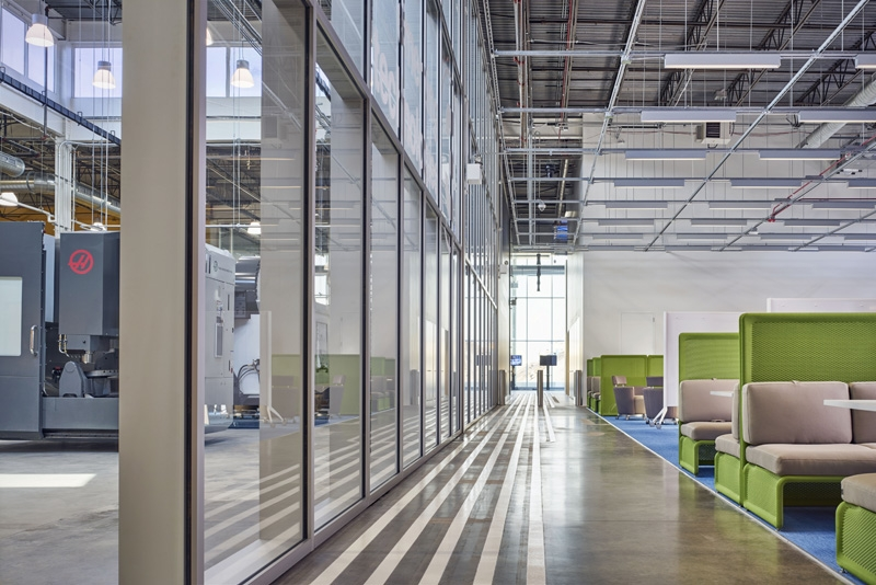 SOM-designed Manufacturing and Design Innovation Institute opens in Chicago