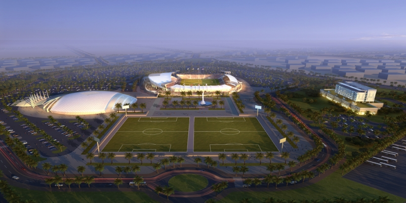 The complex was designed to meet the business and operational goals of a world-c