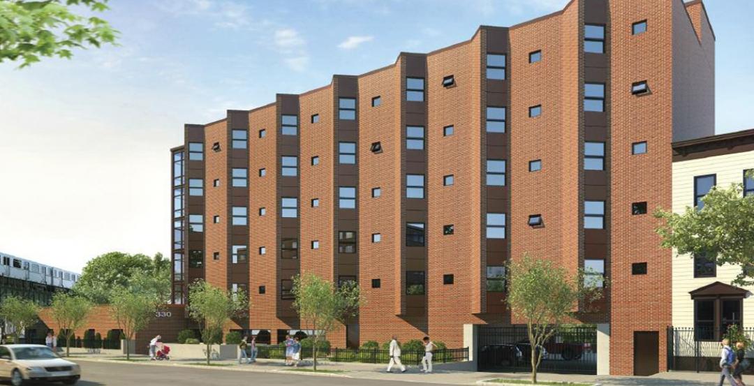 330 MacDougal Street, Brooklyn, NY. 85 modules forming 65 studio apartments and