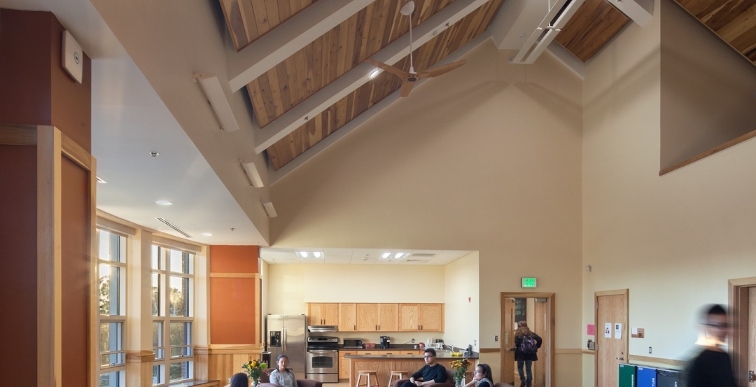 Berea Colleges Deep Green residence hall designed