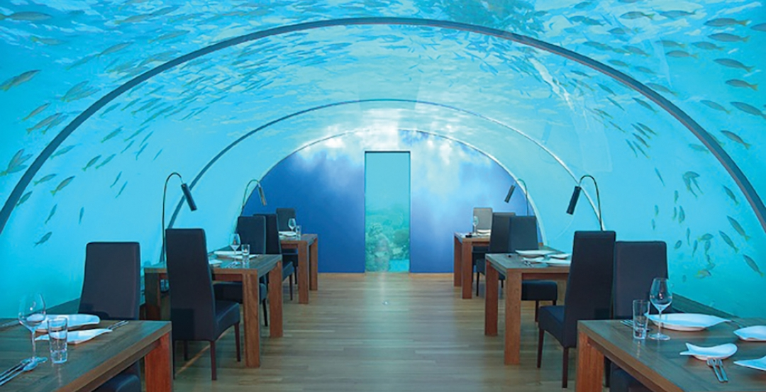 Underwater restaurant to open in the Maldives