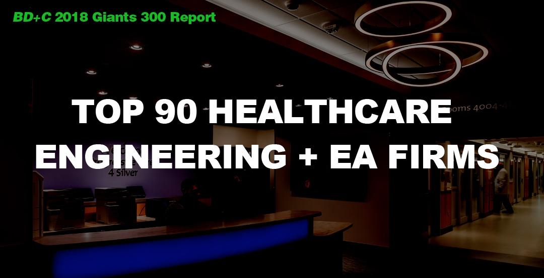 Top 90 Healthcare Engineering + EA Firms [2018 Giants 300 Report]