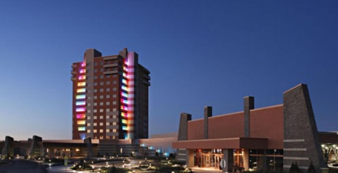 Quapaw Downstream Casino Resort, Quapaw, Oklahoma; Courtesy Manhattan Constructi