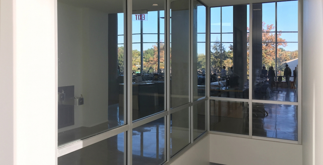 Fire Resistive Transparent Walls Transform Stairwells And