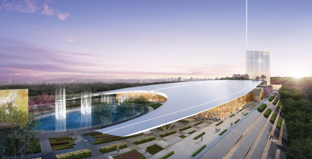 The 300 Acre National Harbor Mixed Use District Is Situated On Potomac River