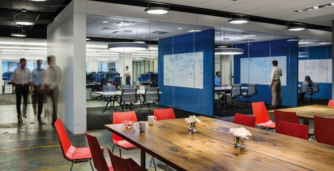 Since trading traditional closed cubicles for an open transparent layout softw & Workplace design trends: Make way for the Millennials   Building ...