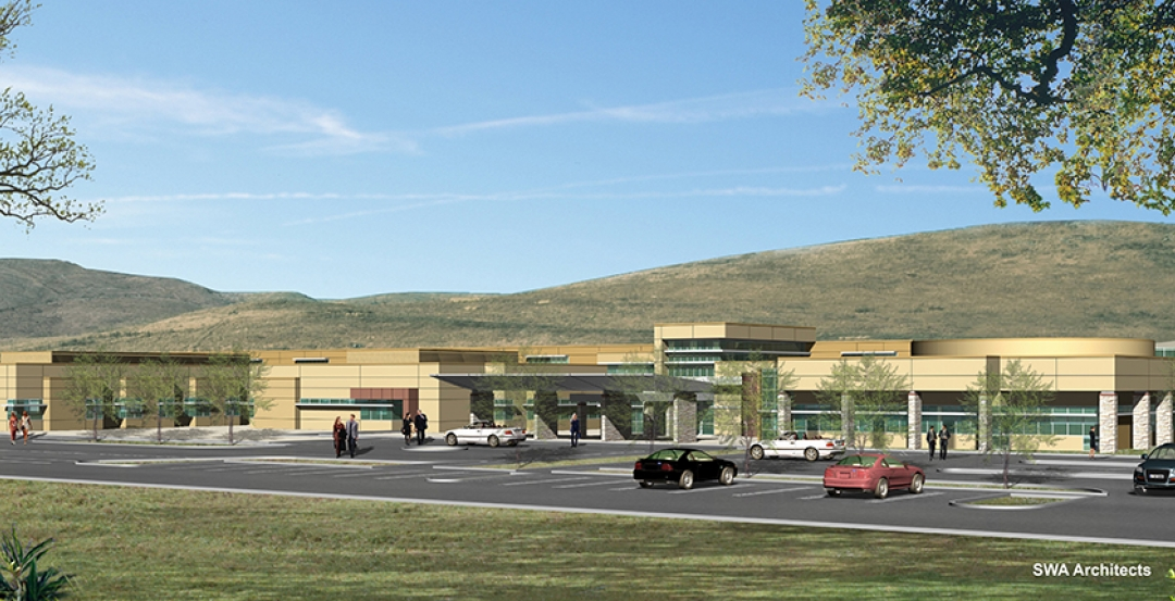 Tehachapi project rendering courtesy of SWA Architects