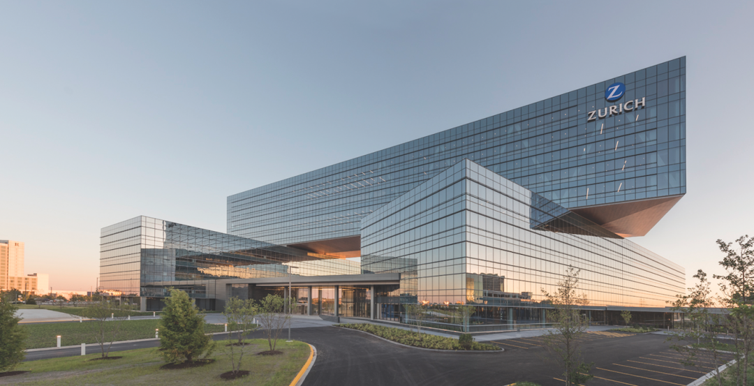 Zurich North America's headquarters building, Schaumburg, Ill. Photo: James Steinkamp Photography
