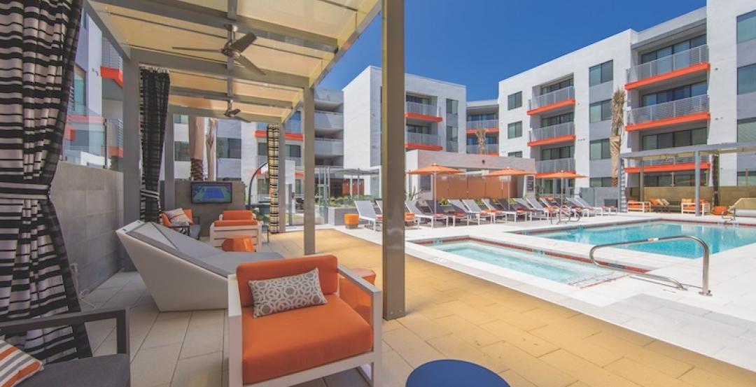 The Tomscot luxury apartment community in Scottsdale, Ariz.
