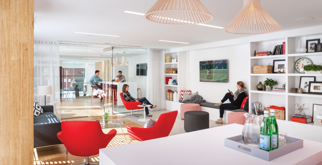 Common areas in multifamily buildings, often look more like lobbies found in hotels in the multifamily housing game