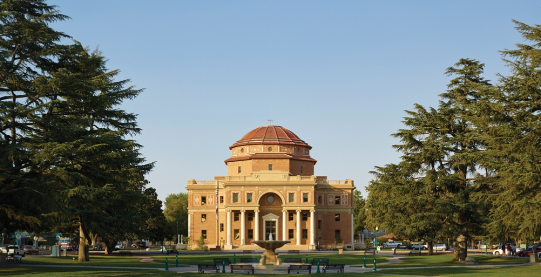 Atascadero City Hall was severely damaged by the San Simeon earthquake in 2003.