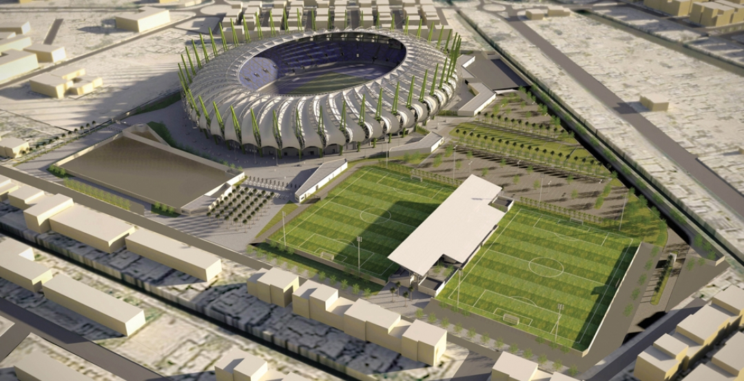 To support rapid iterative design approaches on the 30,000-seat Al Meena Soccer