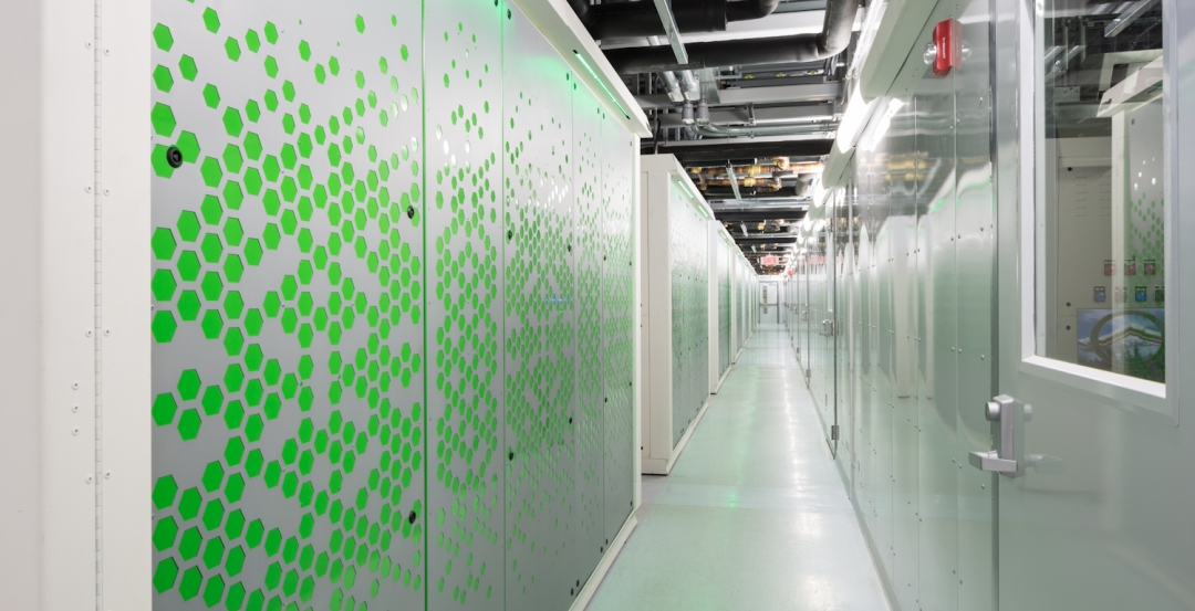 Set to open next month, the $75 million, 215,000-sf Kamloops Internet Data Centr