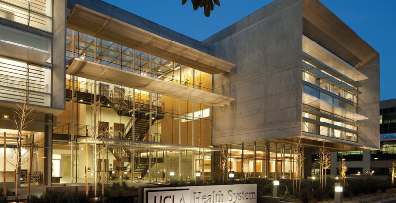 The newly opened UCLA Outpatient Surgery and Medical Building consists of two wi