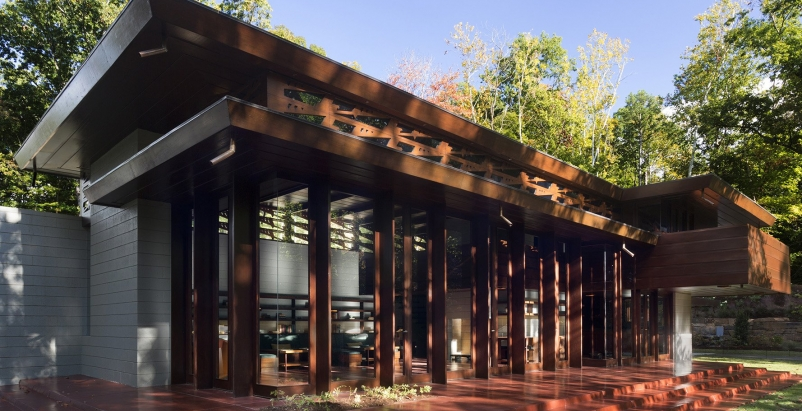 Frank Lloyd Wright's Bachman Wilson House finds new locale at Arkansas museum