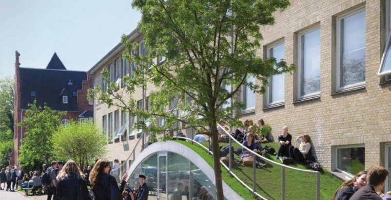 BIG completes Danish high school sports and arts expansion