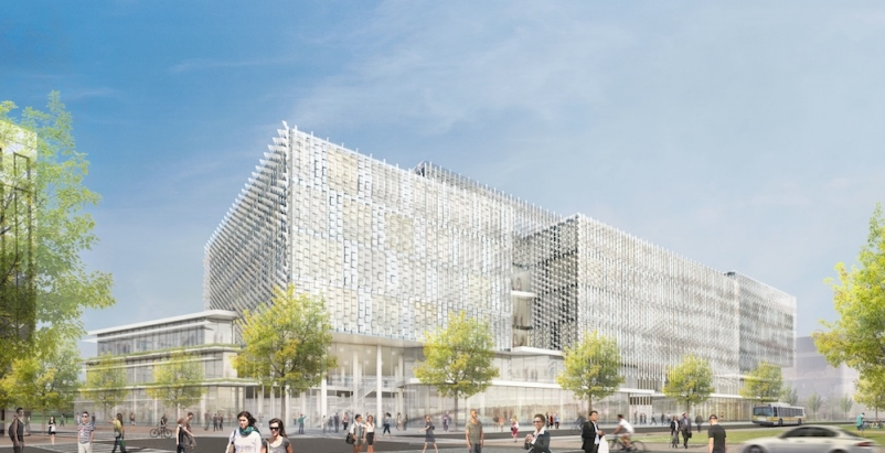 Behnisch Architekten designs Harvard's proposed Science and Engineering Complex
