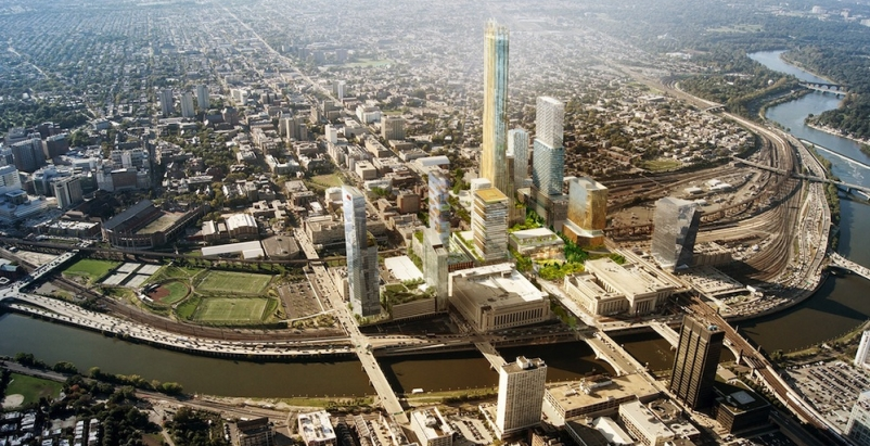 Developers announce updates for Schuylkill Yards, Philadelphia's new innovation hub