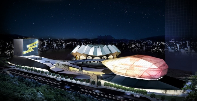 Construction begins on RUR Architecture DPC's Taipei Pop Music Center's South Site