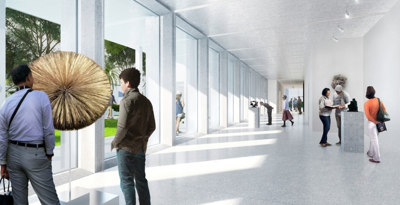 Construction begins on Foster + Partners' Norton Museum of Art expansion project