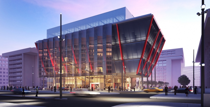 Construction begins on new and expanded International Spy Museum in Washington D.C.