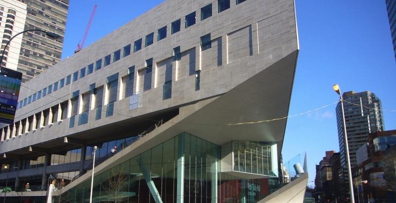 New York's Juilliard School, renovated in 2009 by Diller Scofidio + Renfro