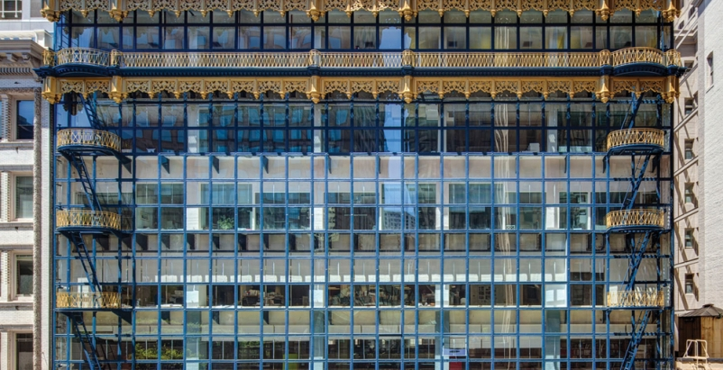 Nation 39 S First Glass Curtain Wall Exterior Restored In San