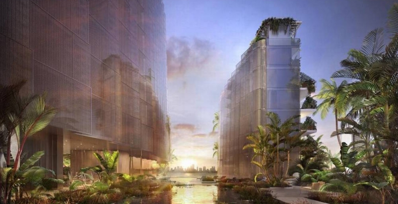 Architect Jean Nouvel designs 'flood-resilient' Monad Terrace in Miami Beach