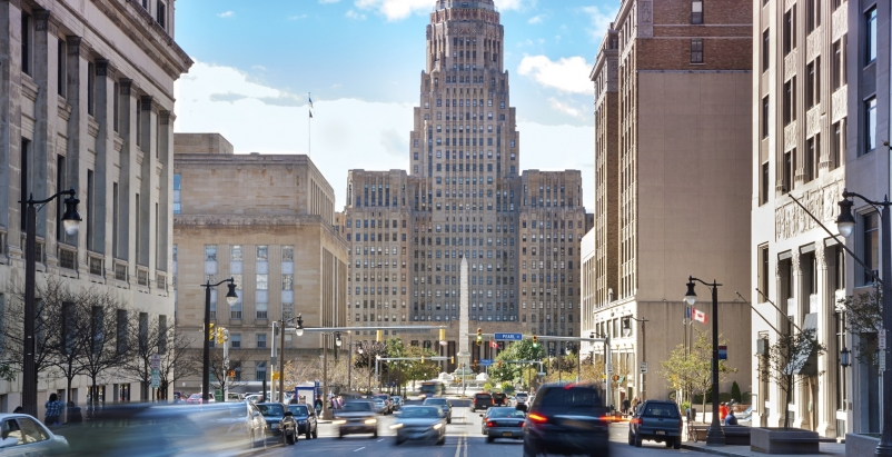 The city of Buffalo hired a team of professionals to execute assessments for mor