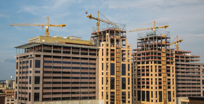 Nonresidential construction spending continues to grow through mid-summer