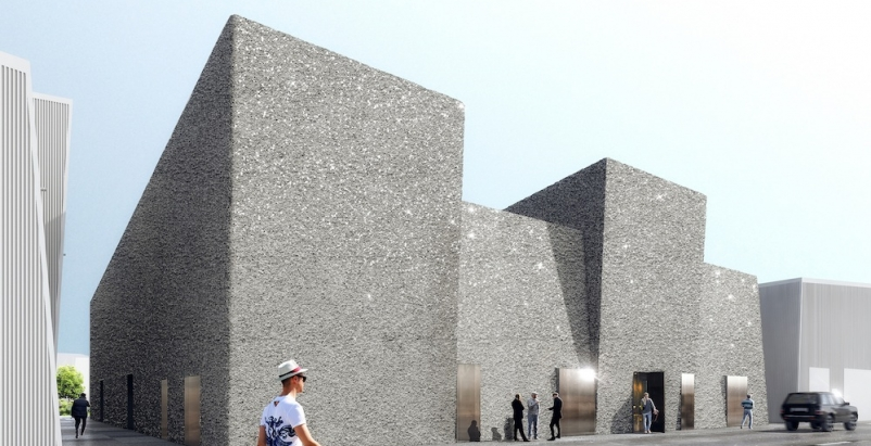 OMA's first UAE project transforms warehouses into multi-purpose art district venue