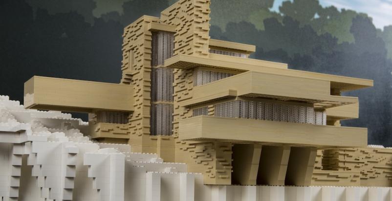 Chicago museum opens LEGO architecture model exhibit