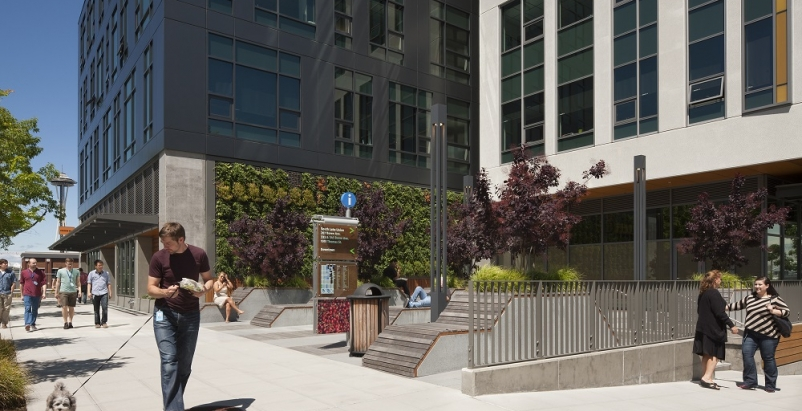 Easter Eggs highlight directories of new Seattle corporate campus