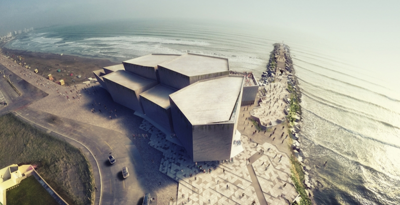 Rojkind Arquitectos serves up Mexican concert hall on the rocks