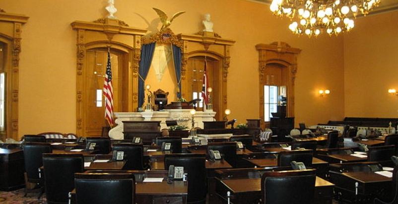 Ohio state Senate chambers. Photo: Wikipedia