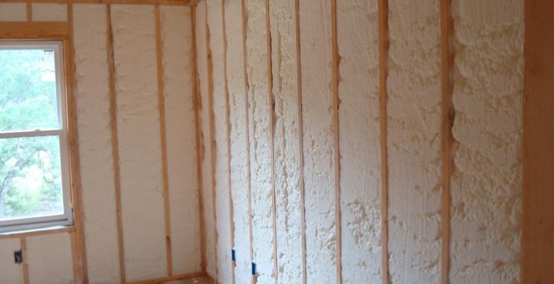 fiberglass, batt, spray foam, insulation