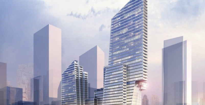 Two new designs submitted for New York City Riverside Center