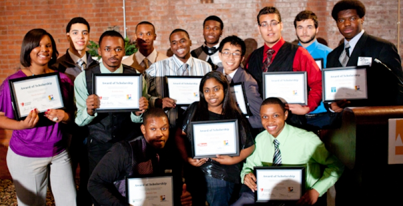 CMSD students in the ACE program received scholarships totaling more than $61,00