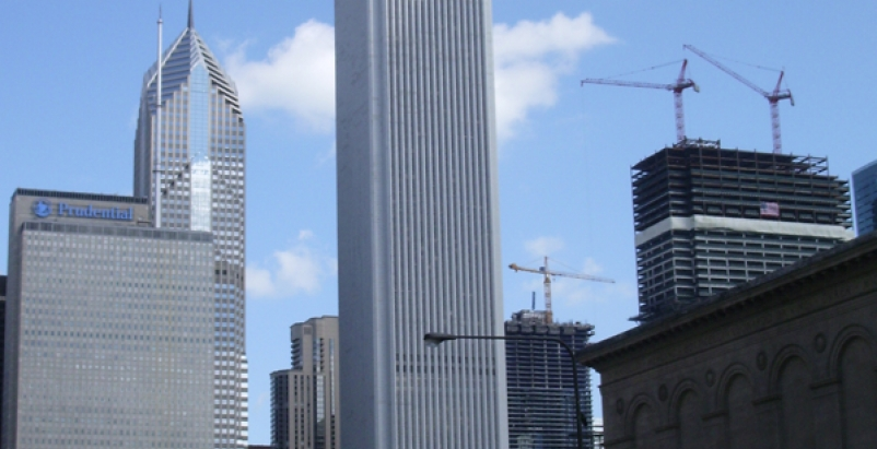 The Aon Center in Chicago was first designated a BOMA 360 building in 2010. Phot